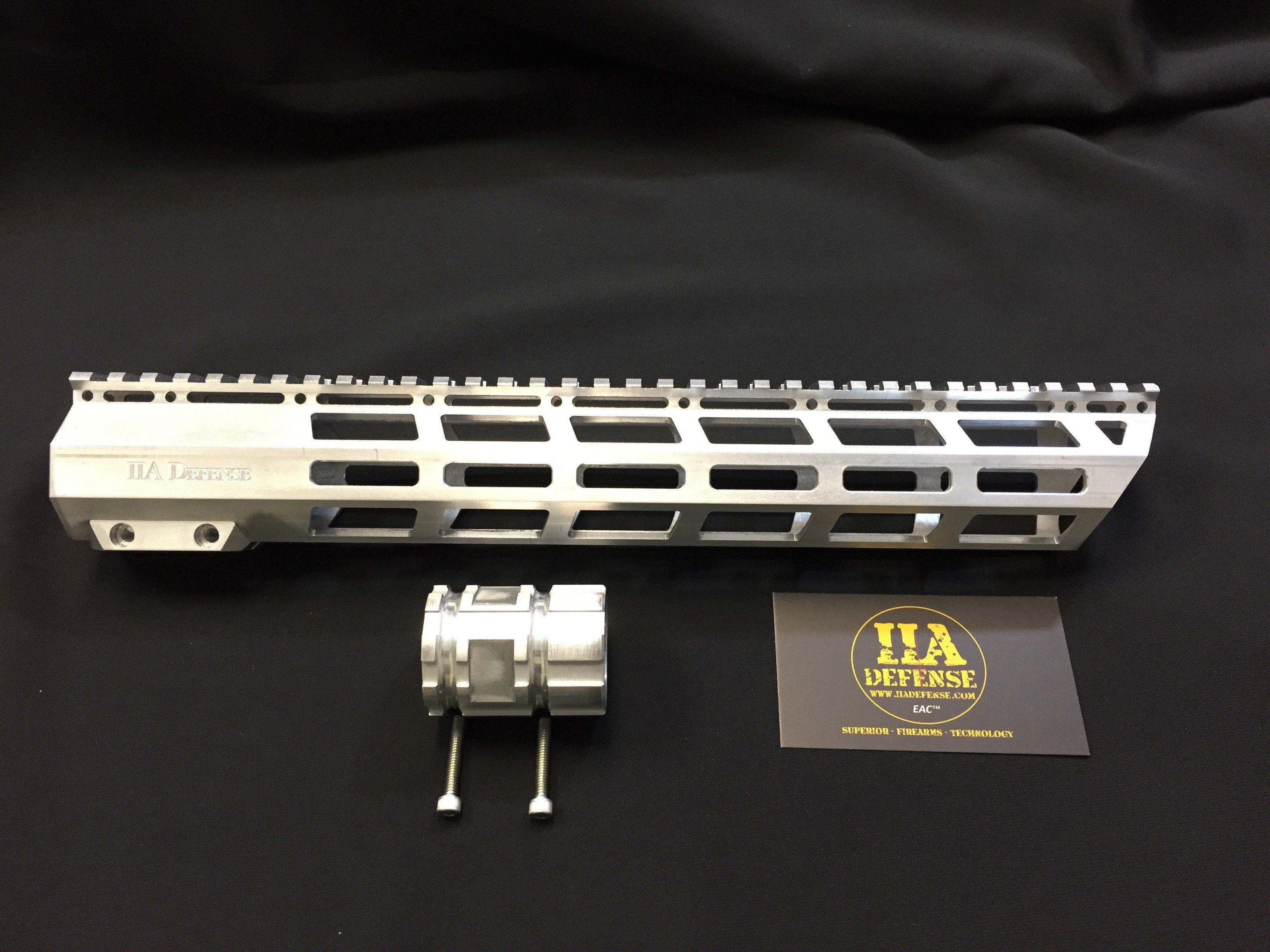 "13.25"" M-lok Angled Cut Free-Float Hand Guard 6061 Aluminum"